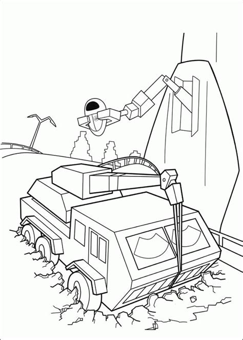 wall e coloring pages coloringpages1001 com