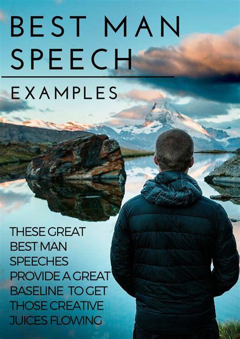 The best best man speeches