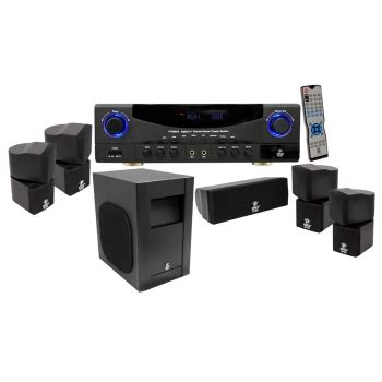 rca 80 watt surround sound home theater system with