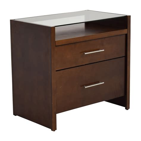 crate and barrel office desk 77 off crate and barrel crate barrel brown desk with