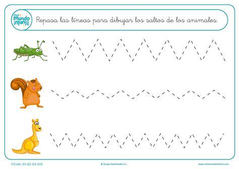 imagenes educativas libro de trazos fichas de grafomotricidad mundo primaria