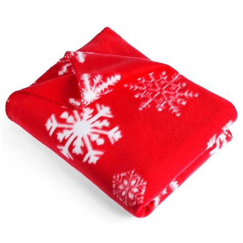 a gift that is soft snowflake fleece blanket throw cosy soft 130 x 160cm sofa home gift ebay