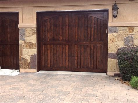 Stain Garage Door Photos Of Recent Tx Area Paint Residential Painting In Tx