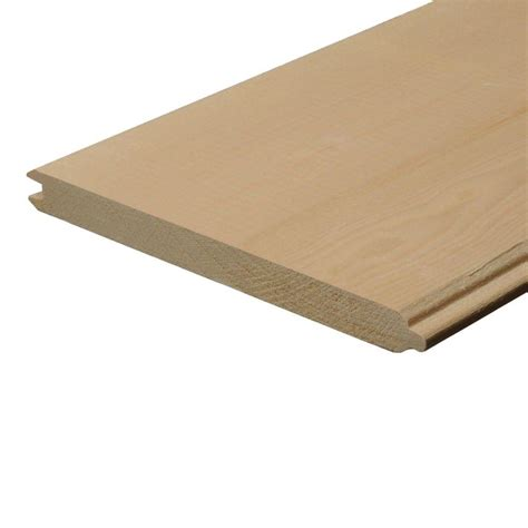 1 in x 8 in x 8 ft pine tongue and groove board 748401