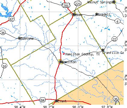 hamilton texas map hamilton county texas detailed profile houses real estate cost of living wages work