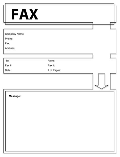 fax cover sheet template word 2003 modern fax cover sheet for free formtemplate