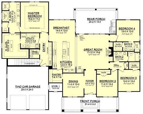 Duplex Plans For Narrow Lots by 3 Bedroom Duplex Plans For Narrow Lots House Style And Plans