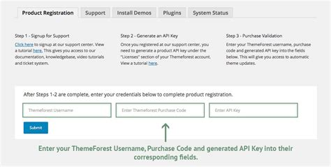 avada theme registration register your purchase theme fusion