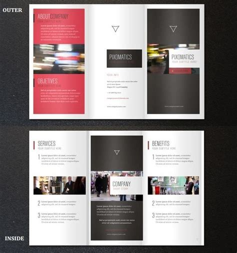 25 Free Psd Tri Folder Brochure Mockups Freecreatives Tri Fold Mailer Template