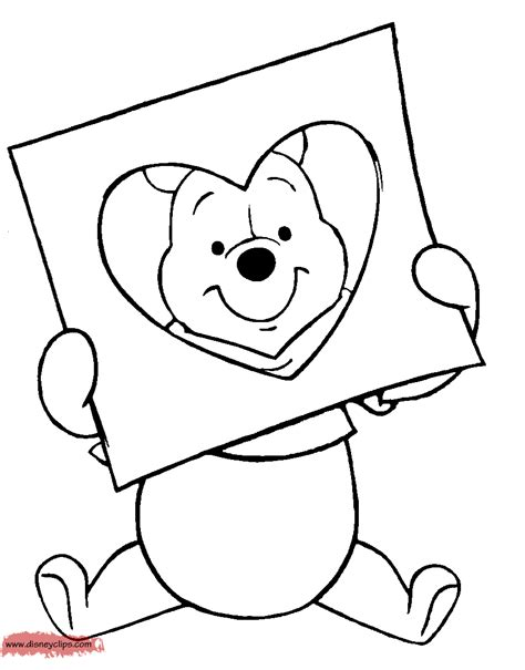 disney valentines day printable coloring pages disney