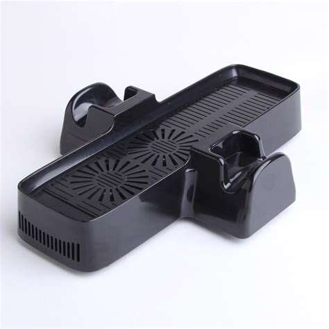 xbox 360 controller with fan slim power cooling fan system console vertical stand with