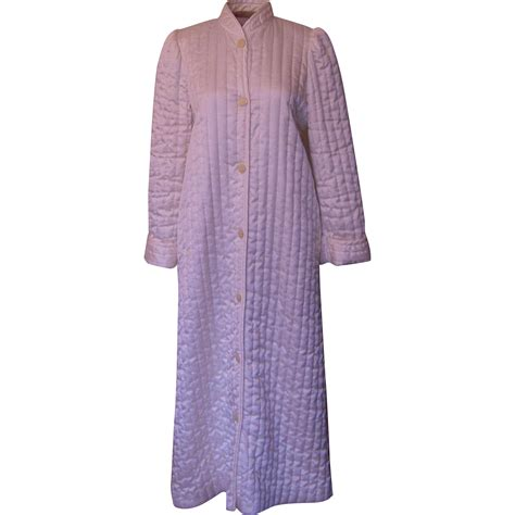 Patchwork Robe - vintage miss elaine quilted robe from beca on ruby