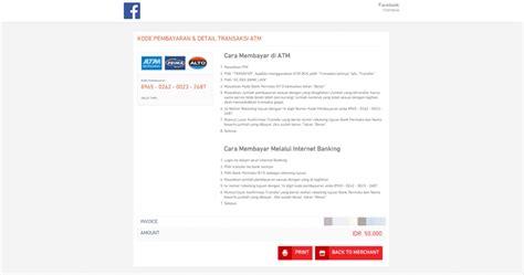 membuat iklan facebook cara membuat iklan di facebook dengan pembayaran bank transfer