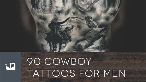 western tattoos for men 90 cowboy tattoos for