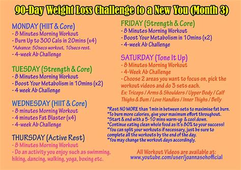 90 day weightloss challenge plan 90 day weight loss plan