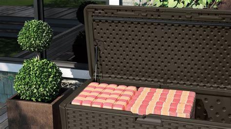 deck accessories storage box by suncast
