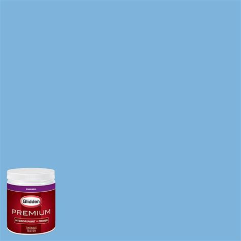 glidden team colors 8 oz cfb 168c ncaa boise state blue interior paint sle gld