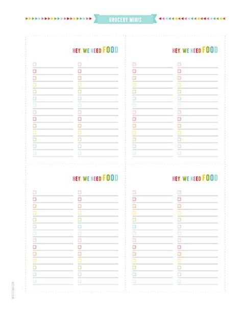 free printable personal planner pages faithful provisions 118 best meal planning grocery list printables images on
