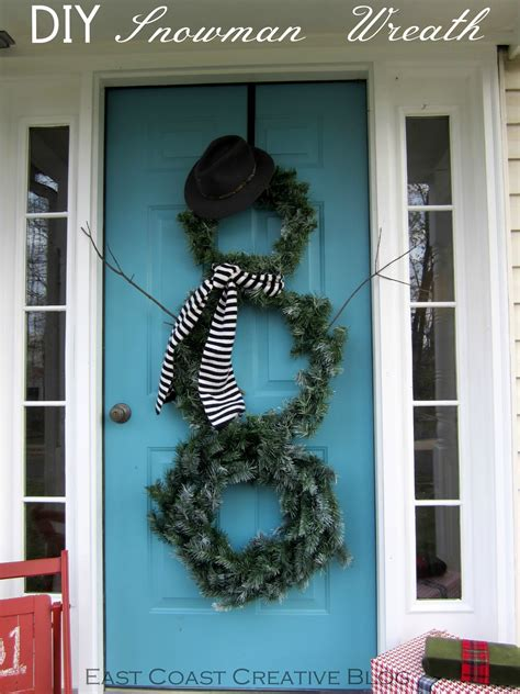 How To Put A Christmas Wreath On The Front Door