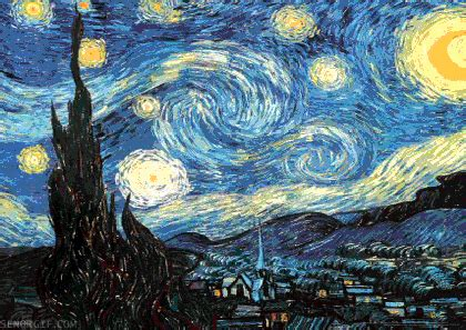 Click Starry Vincent The Starry Night On Tumblr