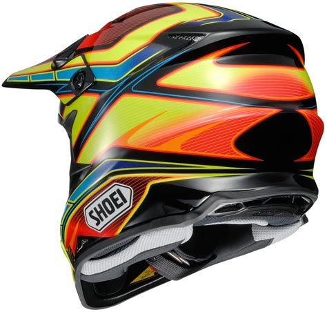 shoei motocross 424 31 shoei vfx w capacitor dot approved motocross mx