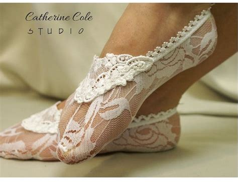 lace slippers for wedding lace socks for heels white lace great for bridal wedding