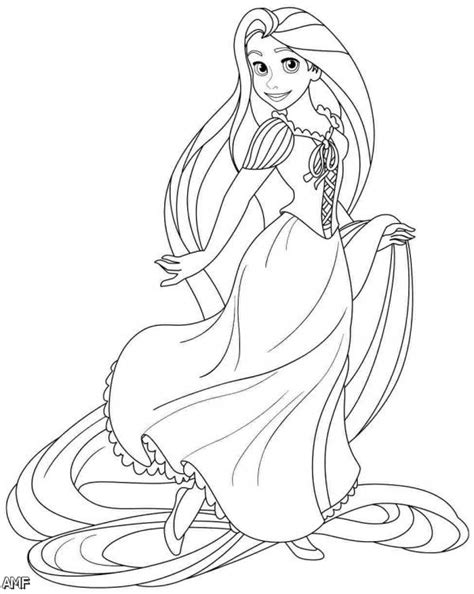 Disney Princess Rapunzel And Flynn Coloring Pages 2015 Rapunzel Princess Coloring Pages Free Coloring Sheets