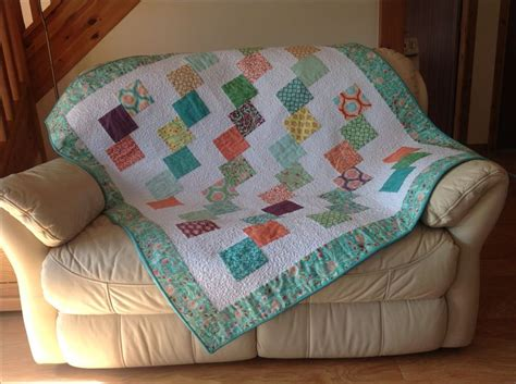 Falling Charms Quilt Pattern by Falling Charms Quilt Made From A Charm Pack Quilt