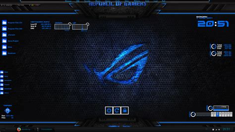 Rainmeter Themes Kali Linux | zerox project rainmeter skin v1 0 by zeroxproject on