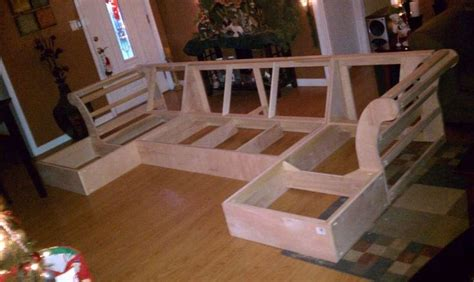 couch frame plans build a couch crafty fun pinterest