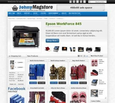johny magstore template blogger templates 2013