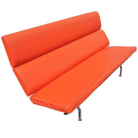 eames compact sofa eames for herman miller compact sofa for sale at 1stdibs