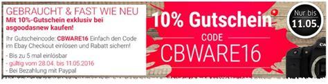 Ebay 10 Prozent Motorrad by Ebay Gutschein September 2016 10 Rabatt