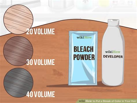 do i have to put the bleach for the crimson obsession hair color 4 ways to put a streak of color in your hair wikihow