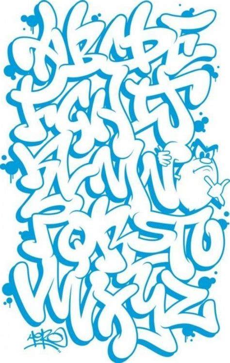 dibujar abecedario o letras en graffiti aprender a