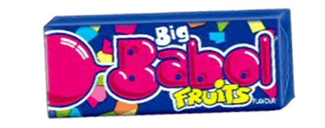 Big Babol Stick Strawberry 5s valigetta trucco big babol chewing gum