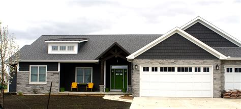 Gray Vinyl Siding With White Trim - ironstone grey siding with pewter grey shingles and