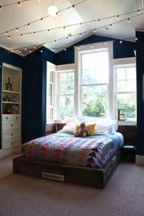 White Canopy Bed how you can use string lights to make your bedroom look dreamy