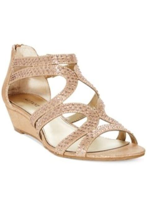 alfani shoes womens alfani alfani s gypsie evening sandals s shoes