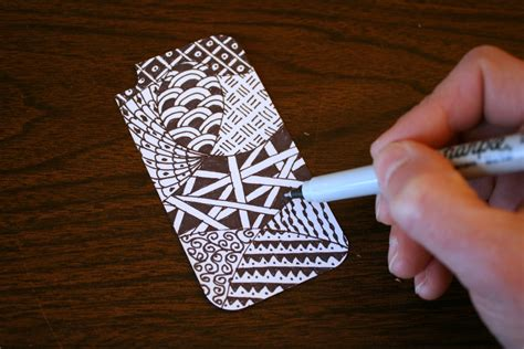 How To Decorate A Clear Phone by Zentangle Iphone Chica And Jo