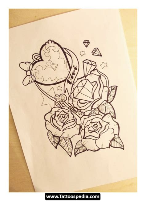 tattoo ideas girly girly rose tattoos tattoospedia