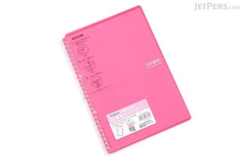 Binder B5 26ring S42 kokuyo cus smart ring binder notebook b5 26 rings pink jetpens