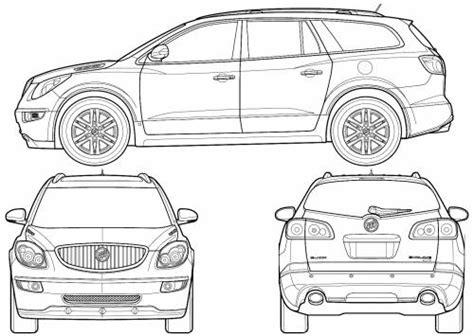 buick enclave dimensions
