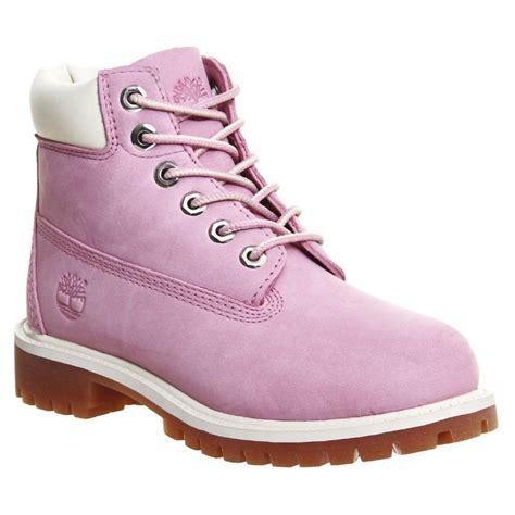 timberland boots pink timberland timberland 6 inch prem nubuck pink z18 a13wa