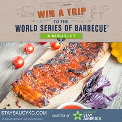 World Series Sweepstakes - extended stay america 174 celebrates kansas city with stay saucy kc