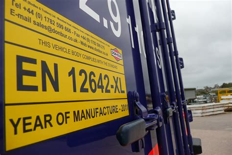 load security on curtain sided lorries load securing vehicle operator guidance gov uk