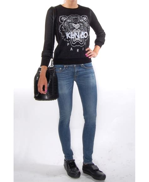 Kenzo Wood Brown kenzo black tiger sweatshirt dsquared greece