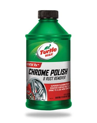 Shoo Turtle Wax chrome rust remover turtle wax
