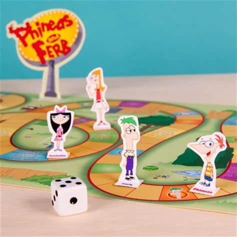 printable board game characters phineas and ferb s backyard board game disney family