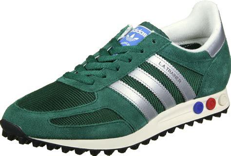 adidas la trainer og adidas la trainer og shoes green silver